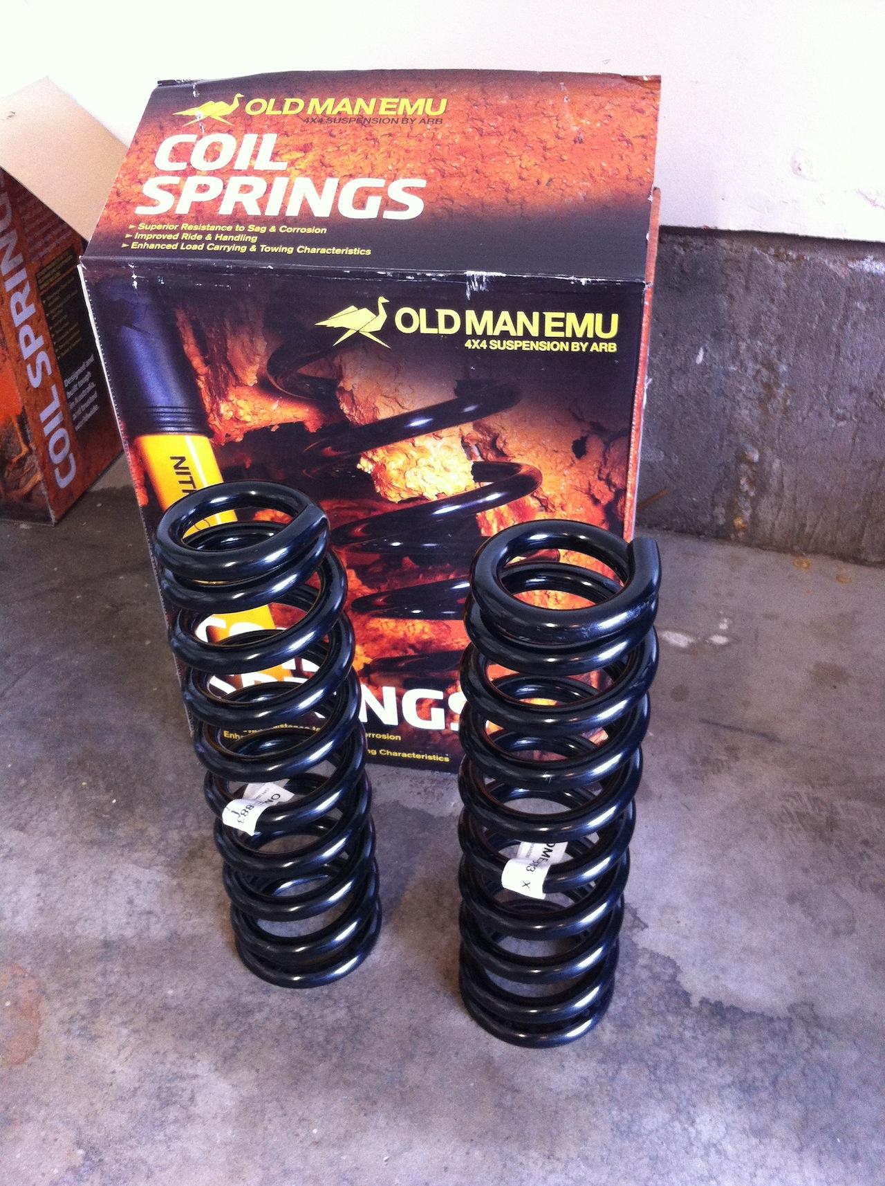 Colorado Springs Toyota >> FS: OME 883 X springs - Toyota FJ Cruiser Forum